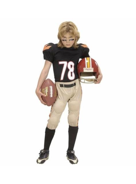 男の子のためのアメリカンフットボール選手の衣装