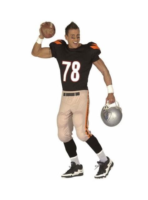American Football speler kostuum voor mannen