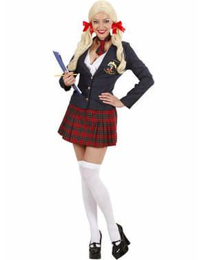 Costum de studentă college pentru femeie