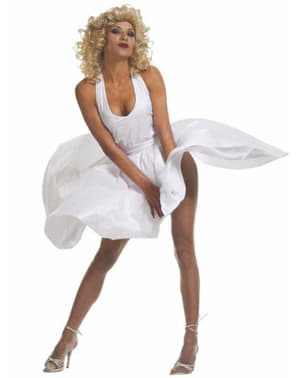 Marilyn costume for a woman