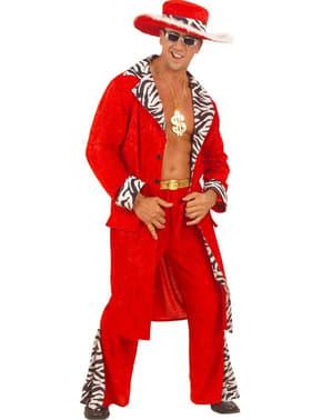Opvallende miljonair Kostuum voor mannen