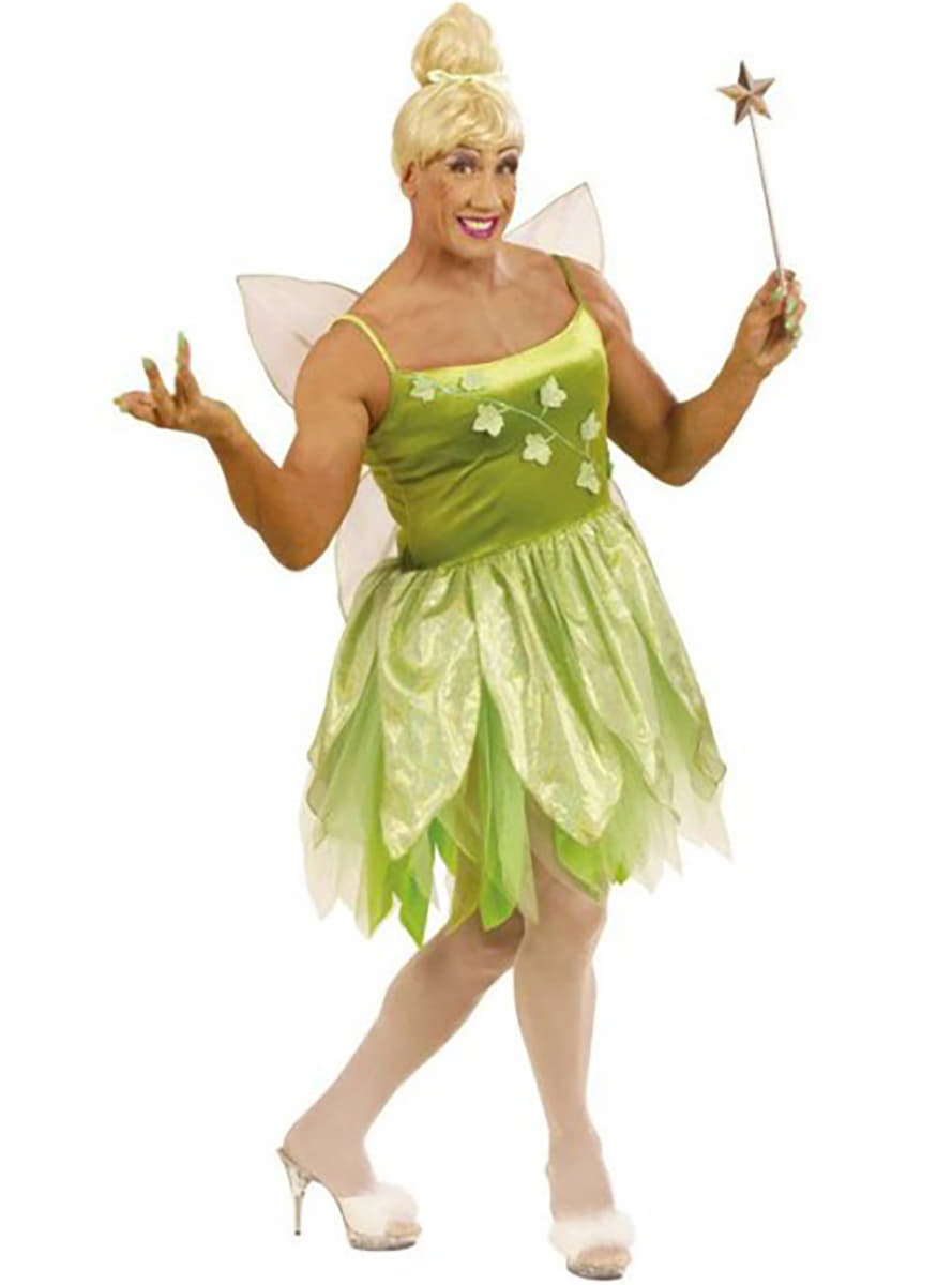 tinkerbell costume for a man. Black Bedroom Furniture Sets. Home Design Ideas