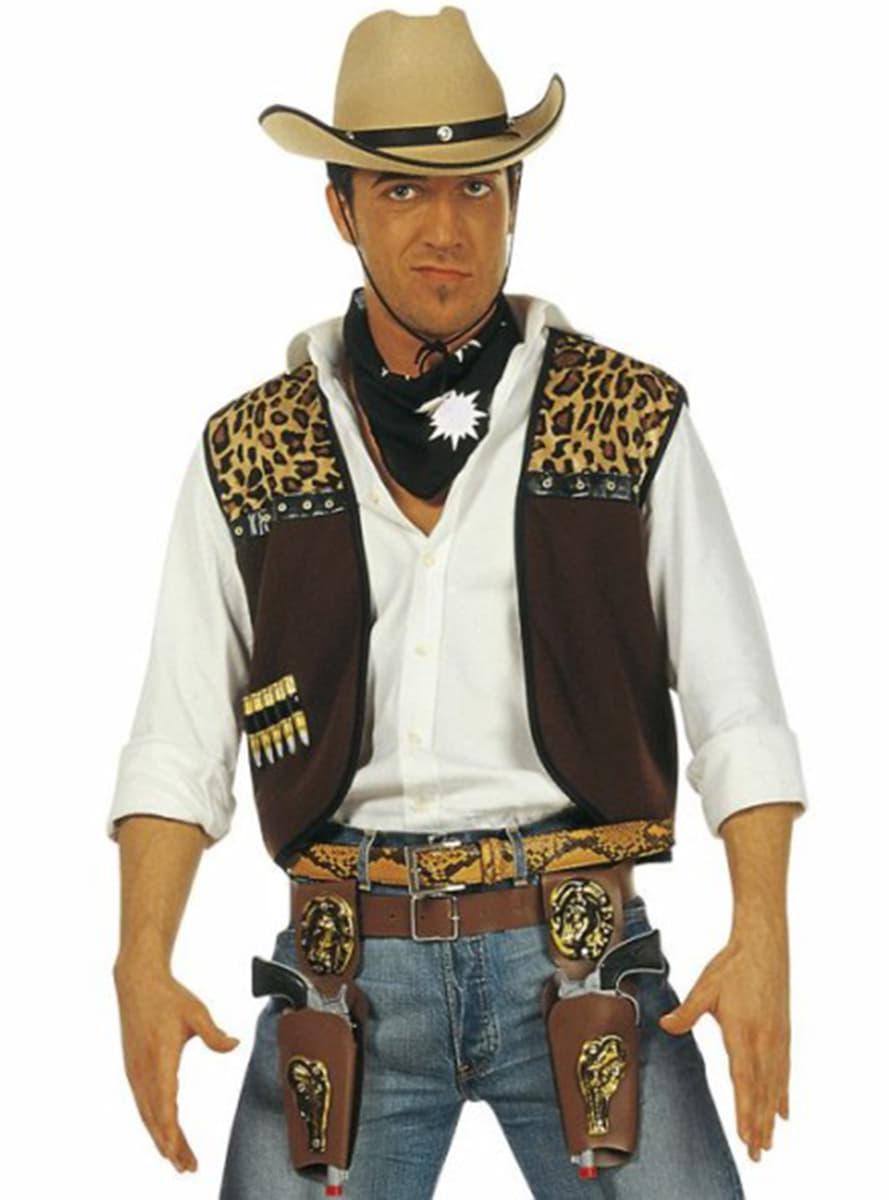 cowboy kost m set f r herren funidelia. Black Bedroom Furniture Sets. Home Design Ideas