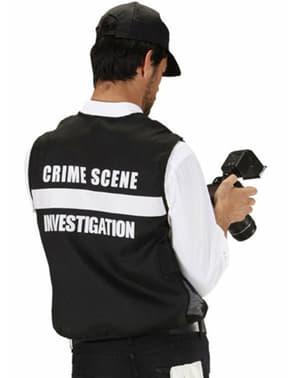 Kit fato de CSI para homem