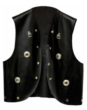 Waistcoat with studs for a man