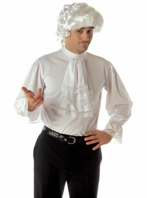 Camisa con chorreras barroca