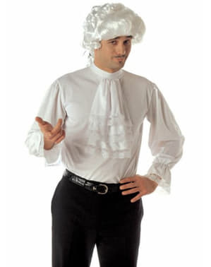 Barokskjorte med flæser