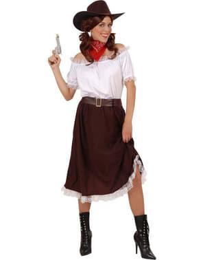 Костюм ковбоїші із пістолетом для жінок