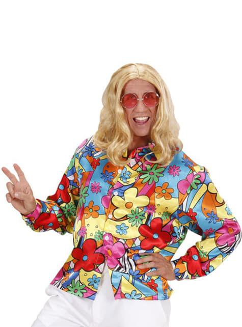 Camisa hippie para hombre