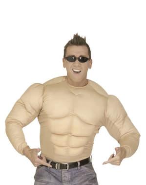 Pánský kostým svalnaté tělo