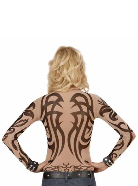 Tribal Tattoo Illusions Trøje til kvinder