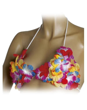Гавайська квітка бюстгальтер