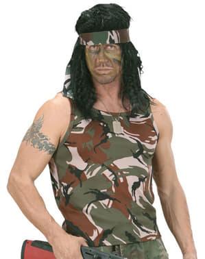 Camouflage vest style tshirt