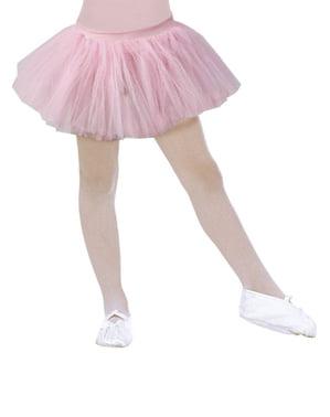 Tutu danseuse rose fille