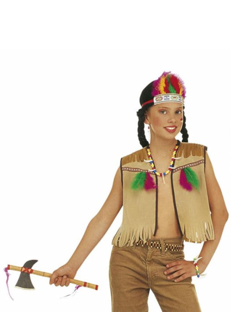 Disfraces De Indio Para Toda La Familia Jau Funidelia - Hacer-disfraz-india