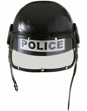 Lázadás rendőri sisak