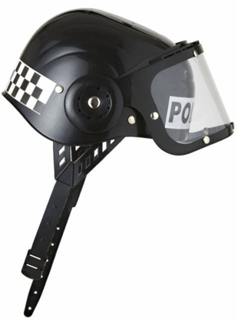 Riot police helmet