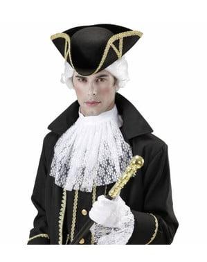Generálský klobouk černý