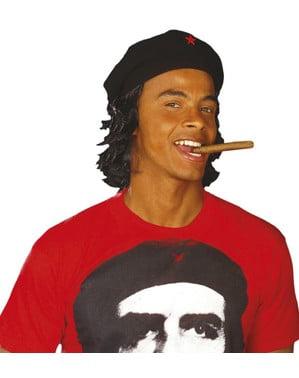 Che Guevara Baret met pruik