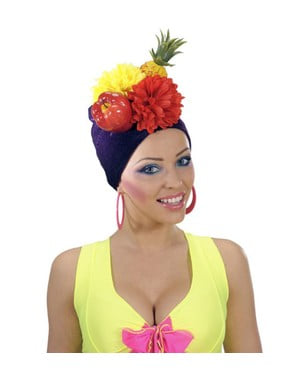 Pokrývka hlavy Carmen Miranda