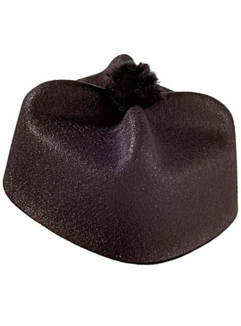 パーソン黒い帽子