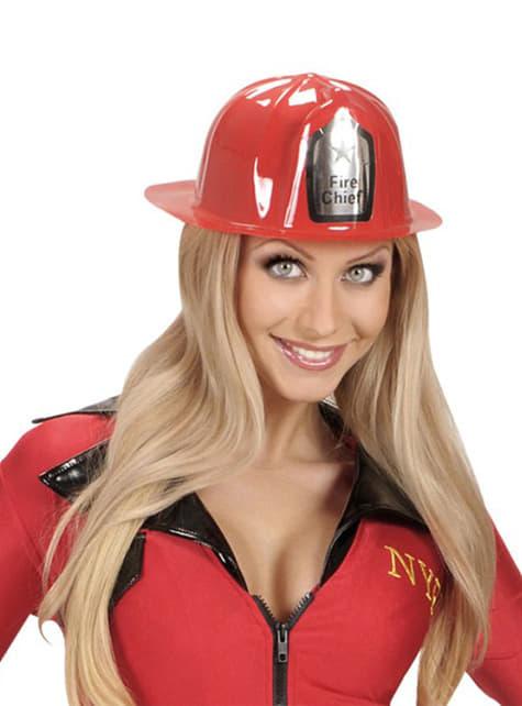 Casco de bombero jefe - para tu disfraz