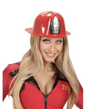 Casque de pompier adulte