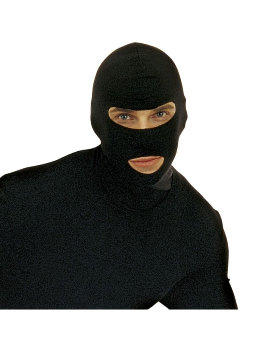 Black Burglar Mask Express Delivery Funidelia