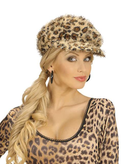 Gorra de leopardo