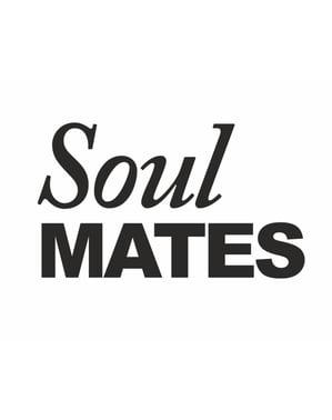 "Set 2 Pelekat Kasut ""Soulmate"""
