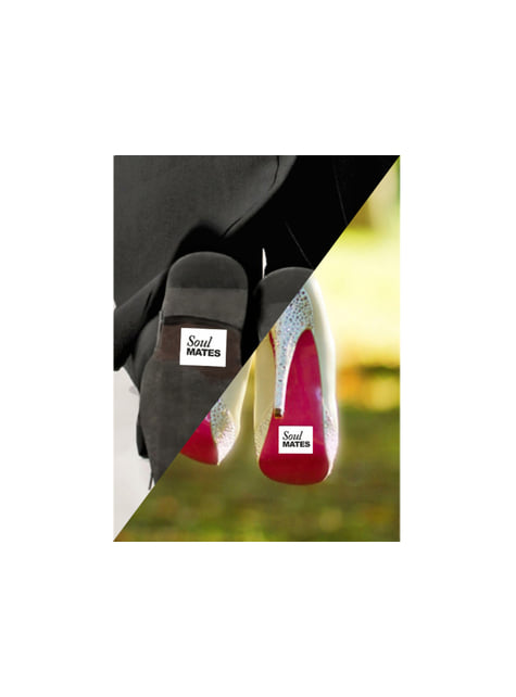 2 pegatinas para la suela de los zapatos