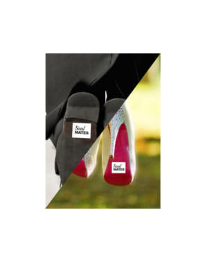 """2 """"Soulmate""""신발 스티커 세트"""