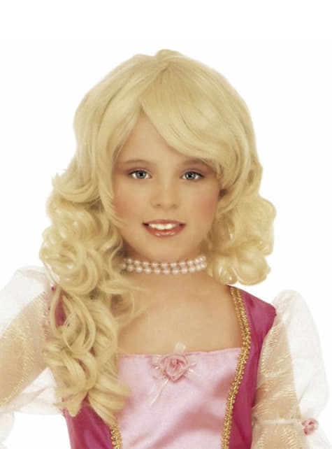 Blond glamourparyk til piger