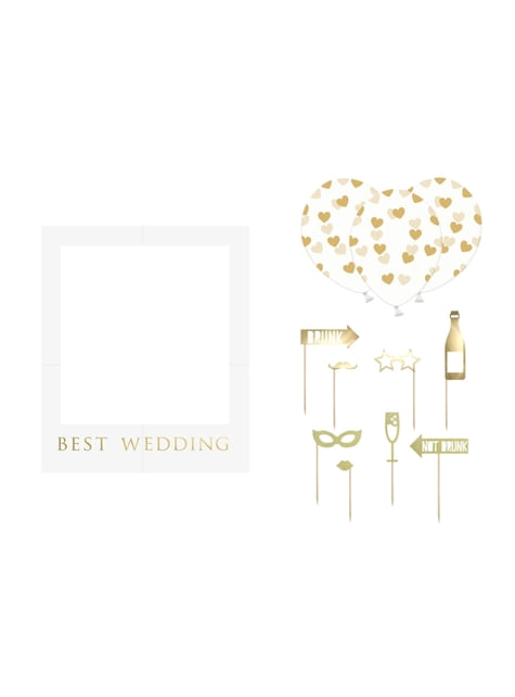 Doplňky na svatební focení