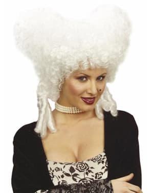 Barock peruk till kvinna