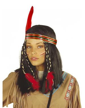 Perucă de indiancă cheyenne
