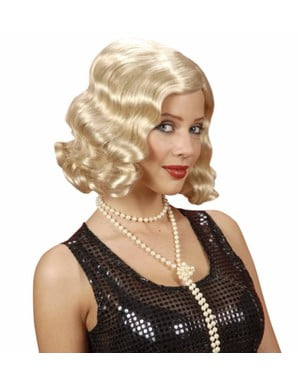 Blond peruk tjugotalet