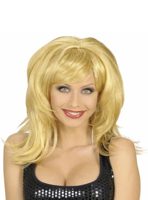 Dishevelled blond wig