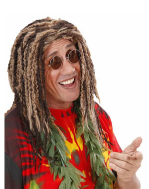 Perruque rastafari méchées