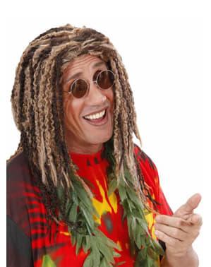 Rastafari Parykk med Dreadlocks
