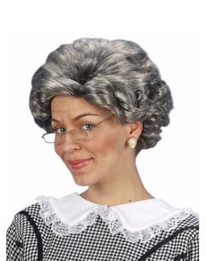 Isoäiti Agatha-Peruukki