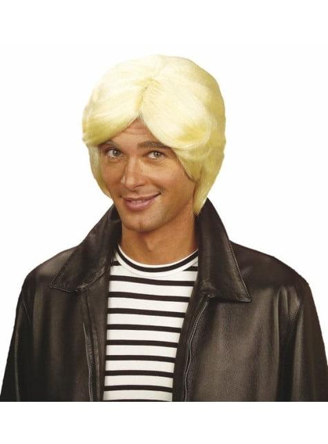 Peruka blond Claude Francois