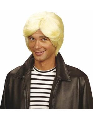Perruque blonde Claude Francois