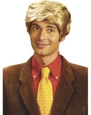 Pruik Rick blond
