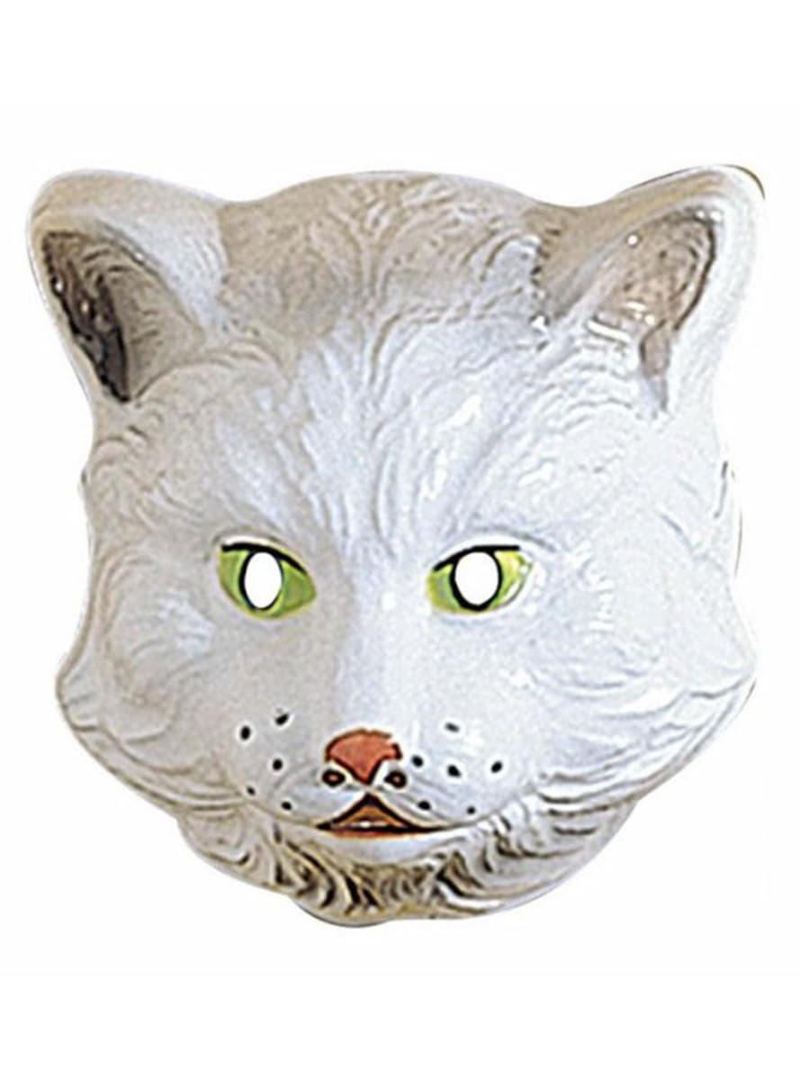 Katze gesichtsmaske für kinder aus plastik kostüm