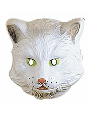 Plastic cat mask for Kids
