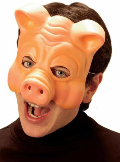 Careta de cerdo sin mentón