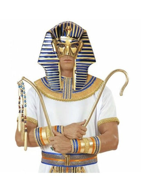 Plastová maska Tutanchamona