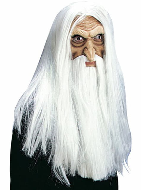White wizard mask