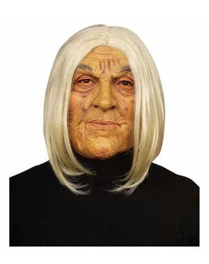 Máscara de vieja bruja